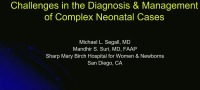 #42 Challenges in the Diagnosis and Management of Complex Neonatal Cases (Rx = .75 Hr.)	 ACPE #0263-000-18-960-L01-P (1.25 Contact Hrs.)