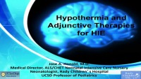 #31* Hypothermia and Adjunctive Therapies for HIE (Rx = .25 Hr.)  ACPE #0263-000-18-956-L01-P (1.25 Contact Hrs.)