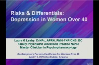 Hormones and Neurons: The Relationship between Depression and Perimenopause (Rx = .5 hr.)