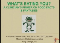 What's Eating You? A Clinician's Primer on Food Facts and Fantasies (Rx = .25 hr.)