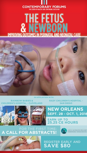 The Fetus and Newborn Conference