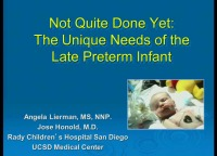 #22 Not Quite Done Yet: The Unique Needs of the Late Preterm Infant (Rx = .25 hr.) ACPE #0263-000-16-665-L01-P (1.25 contact hrs.)