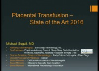 #24 Placental Transfusion: State of the Art ACPE #0263-000-16-667-L01-P (1.25 contact hrs.)