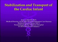 #42 Stabilization and Transport of the Cardiac Infant (Rx = .25 hr.) ACPE #0263-000-16-672-L01-P (1.25 contact hrs.)
