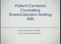#42 Patient-Centered Counseling: Shared Decision Making Skills