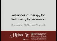 Advances in Therapy for Pulmonary Hypertension (Rx = .75 hr.) - Q&D (Rx = .5 hr.) - Faculty Panel