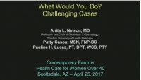 What Would You Do? Challenging Cases (Rx = .75 hr.) - Faculty Panel (11:15-12:15 pm) - Q&D (Rx = .25 hr.) - Faculty Panel (12:15-12:30 pm)