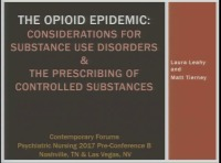 Opioid Use Disorders: Risk Mitigation Strategies and Evidence-Based Treatments (Rx = 1.75 hrs.)