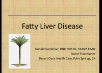 Fatty Liver Disease: From Steatosis to Cirrhosis (Rx = .5 hr.)