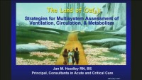 The Land of OZ(2): Strategies for Multisystem Assessment of Ventilation, Circulation and Metabolism