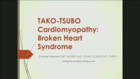 Takotsubo Cardiomyopathy: Broken Heart Syndrome
