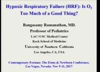 #31 Hypoxic Respiratory Failure: Is Oxygen Too Much of a Good Thing? (Rx = .25 hr.)