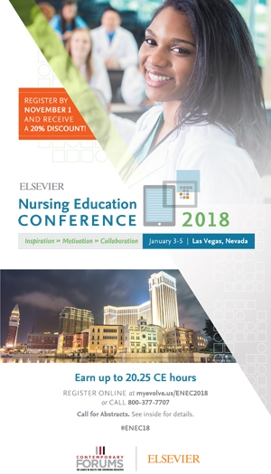2018 Elsevier Nursing Education Conference
