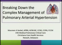 #31 Breaking Down the Complex Management of Pulmonary Arterial Hypertension (Rx = 1 hr.)