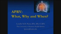 #33 APRV: What, Why and When?