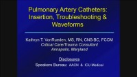 #42 PA Catheters: Insertion and Trouble-Shooting