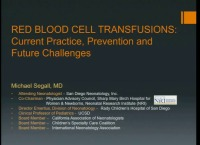 #23 Red Blood Cell Transfusions: Prevention, Current Practices and Future Challenges