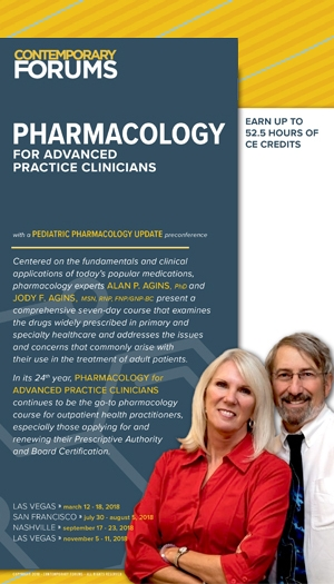 Pharmacology for Advanced Practice Clinicians