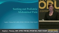 Managing Abdominal Pain (RX - 1 hr)