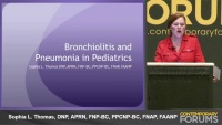 Pneumonia and Bronchiolitis (RX-.5 hr)