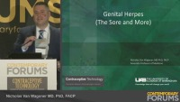 Genital Herpes: Managing the Sore and More (RX= .75 hours)