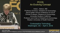 PCOS: An Evolving Concept (RX= .5 hours)