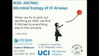 W26--INF/MIC: Microbial Ecology of CF Airways
