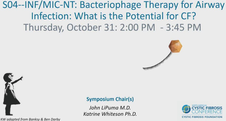 S04--INF/MIC-NT: Bacteriophage Therapy for Airway Infection: What is the Potential for CF?