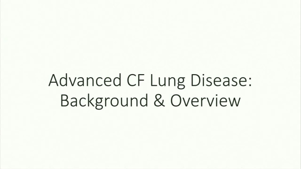 SC04--CLIN-NT: Advanced Lung Disease