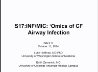 S17: INF/MIC: Omics of CF Airway Infection