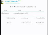W02: APP&D-GMS:  New Advances in CF Animal Models