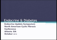 S19: CLIN: Endocrine Update