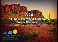 W24: NT:  New Therapy & Outcomes Poster Discussion