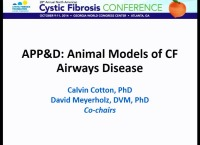 W12: APP&D: Animal Models of CF Airways Disease