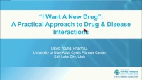 SC03: CLIN: The Perils of CF Pharmacotherapy: A Practical Approach to Inhaled & Systemic Drugs (TICKET REQUIRED)