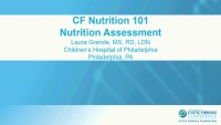 SC06: NTR: CF Nutrition 101 (TICKET REQUIRED)