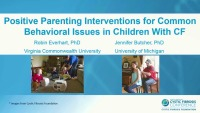 SC08: SW/PSYCH: Positive Parenting Interventions for Common Behavioral Issues in Children With CF (TICKET REQUIRED)
