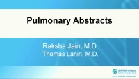 W13: CLIN: Pulmonary Abstracts