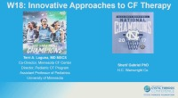 W18: NT: Innovative Approaches to CF Therapy