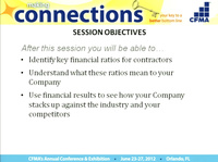 Utilizing CFMA's 2011 Construction Industry Annual Financial Survey to Build a Better Bottom Line