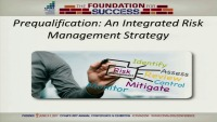 Prequalification: An Integrated Risk Management Strategy