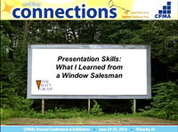 Presentation Skills: What I Learned from a Window Salesman