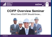CCIFP Overview Seminar - Accounting and Reporting - Day 1