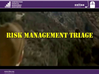 Risk Management Triage – Can a CFM Be Saved? - Day 2
