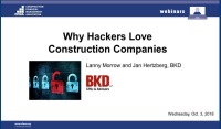 Why Hackers Love Construction Companies
