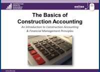 Basics of Construction Accounting - Day 2