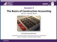 Basics of Construction Accounting - Day 3