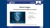 Brown Sugar: Deriving Satisfaction from Data Analysis: 2019 Economic Outlook with Anirban Basu
