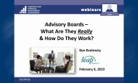 Advisory Boards – What Are They Really & How Do They Work?