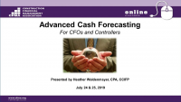 Advanced Cash Forecasting - Day 2